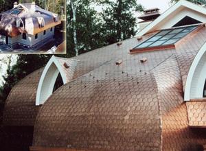 Сколько стоит медная крыша